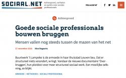 Goede sociale professionals bouwen bruggen