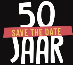 Save the date 50 jaar buurtwerk 't Lampeke